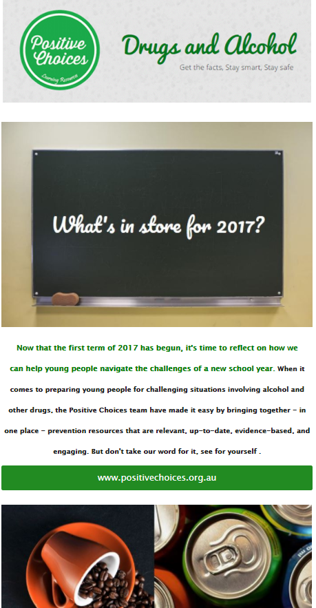 Starting The Conversation About Drug Use Positive Choices >> Positive Choices Newsletters