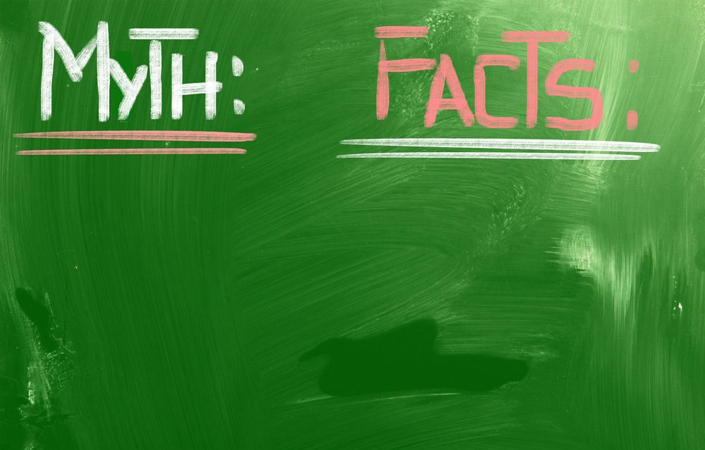 Myth or Fact? Written on blackboard