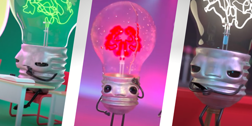 Respect Your Brain lightbulb icons