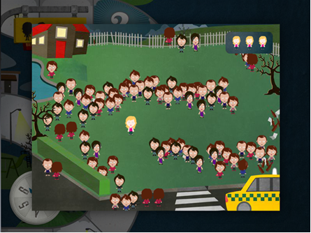 screengrab of gameplay