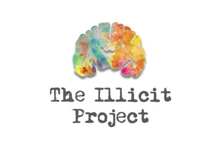 The Illicit Project brain logo
